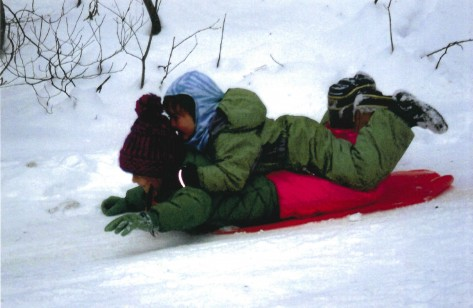 EC Slideshow Sledding